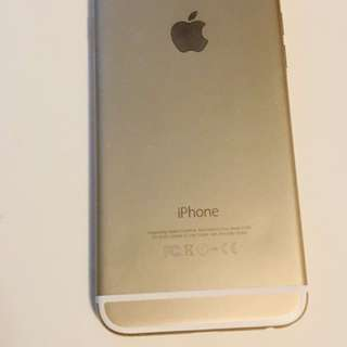 Gold iPhone 6-128gb
