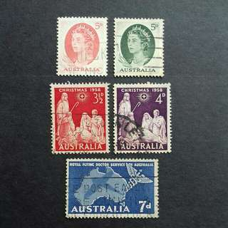 Australia Old Stamps 3 Complete Sets - Used