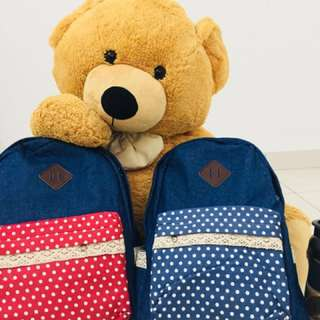 Casual backpack for mama & kid