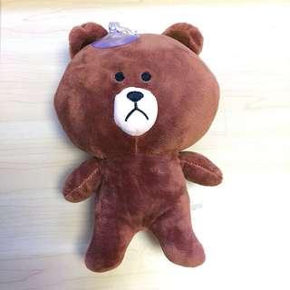 (BN) LINE Brown stuffed toy