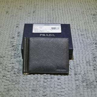 *Brand New Genuine* Prada Men's Saffiano Wallet w/ Money Clip