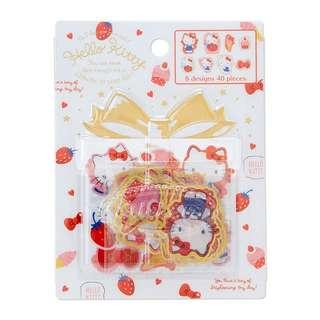 Japan Sanrio Hello Kitty Sticker (Happiness Girl)
