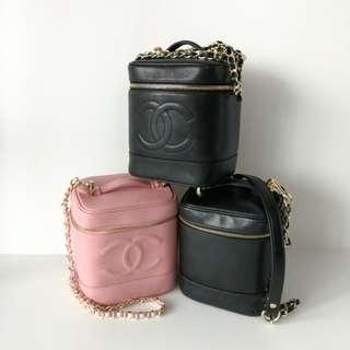 Authentic Chanel Vanity Case