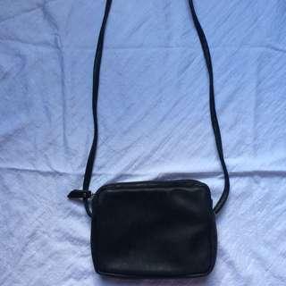 Cotton On Simple Black Sling Bag