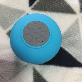 Waterproof shower speaker- blue