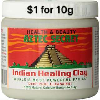 Aztec Clay Healing Mask SAMPLE