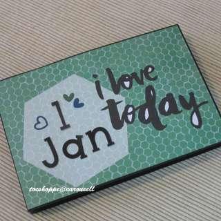 Love Today Panel Scrapbook Album