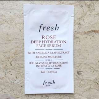 New Fresh Rose Deep Hydration Face Serum