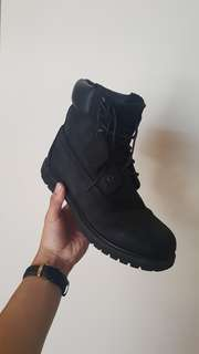 Timberlands Triple Black