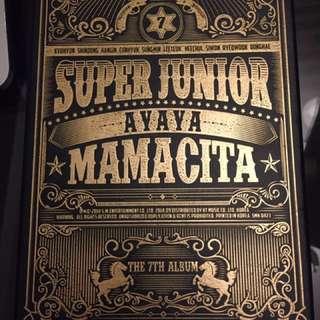 Super Junior MAMACITA 7th Studio Album