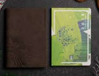 Starbucks Planner 2018 Green Large