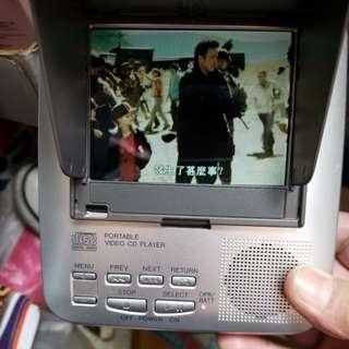 Panasonic 5寸手提播放VCD機