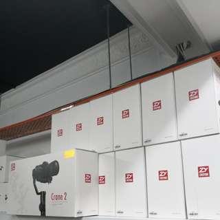 Zhiyun Crane 2 (support 3.2kg) With follow focus (Canon)