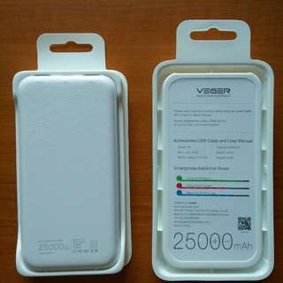 Powerbank VEGER 25000 MAH