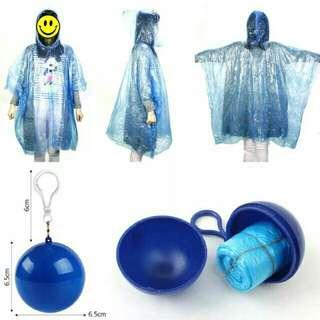 Rain Coat in keychain ball