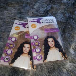 "2 X Instant hair extensions 40cms (16"")"