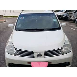 Nissan Latio Sedan 1.5 Auto