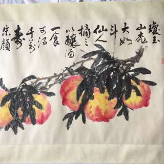 画家潘鍚豪69x133cm Chinese painting