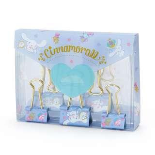 Japan Sanrio Cinnamoroll Double Clip Set (Happiness Girl)
