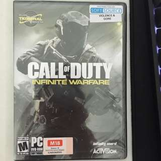 BNIB sealed PC Call of Duty : Infinite Warfare