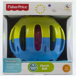 Fisher Price Clutch Ball (for 3 months and up)