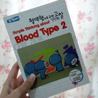 Simple Thinking about Blood Type 2 by Park Dong Sun
