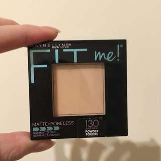 Maybelline Fit Me粉餅