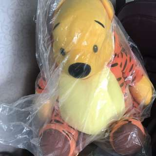 Soft toy- big size winnie the pooh tigger style