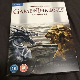Game of Thrones the complete season 1 - 7 boxset bluray