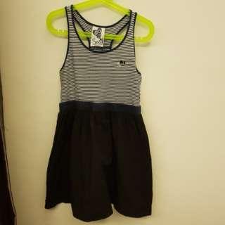 Seed kids sleeveless dress (size:9)