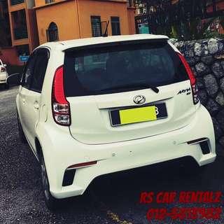 Car for Rent : Viva Myvi Axia Alza Vellfire