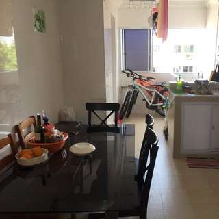 4 room HDB entire place for rent at tampines st91 BLK922