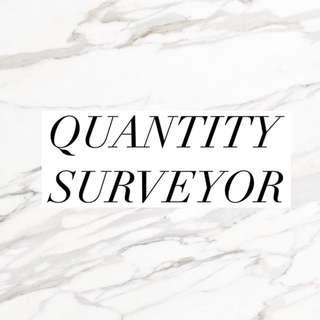 Vacancy - Quantity Surveyor