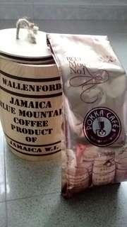 藍山咖啡+特色木桶