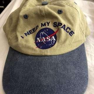 "vintage unisex NASA cap ""i need my space"""