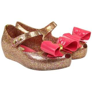 Mini Melissa Ultragirl Bow Glitter