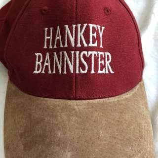 vintage men's cap hankey bannister whiskey
