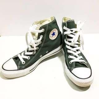 限時降價⏰(原價2000) 全新✨Converse軍綠色中短筒帆布鞋 #有超取最好買 #好想找到對的人 #冬季衣櫃出清