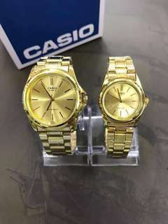 casio single/couple watch