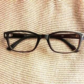 全新古著店購入紅茶色眼鏡