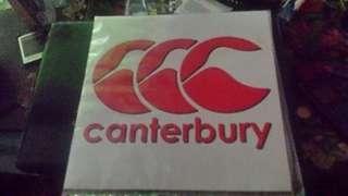 Sticker CCC canterbury 2pcs