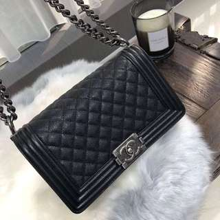 Brand New Chanel Boy Old Med