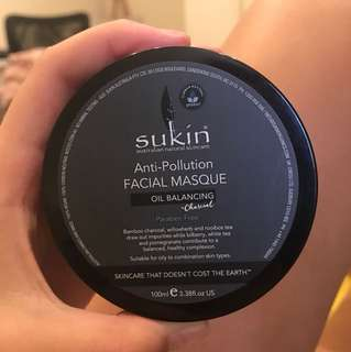 Sukin face mask