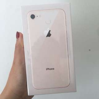 NEW IPHONE 8 64gb GOLD (sealed)