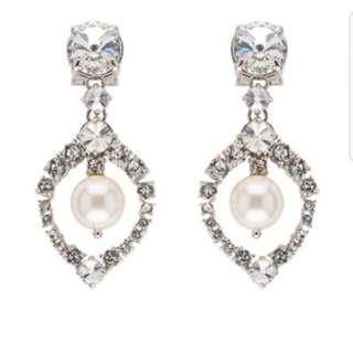 SALEEE MIU MIU Authentic earring with box