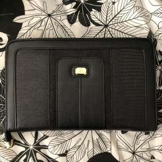 KARDASHIAN KOLLECTION Black Travel Wallet