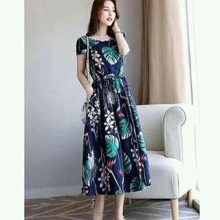 (NC-11) Floral Maxi Dress