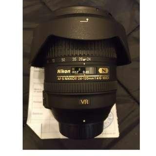 Nikon 24-120mm F4.0 G IF ED (公)