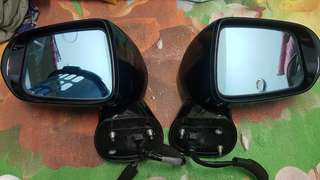 honda stream rn6 side mirror signal blue