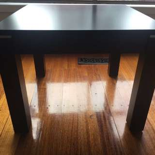 Wooden Coffee Table. Square. Small scratches on top of table (hardly noticeable)